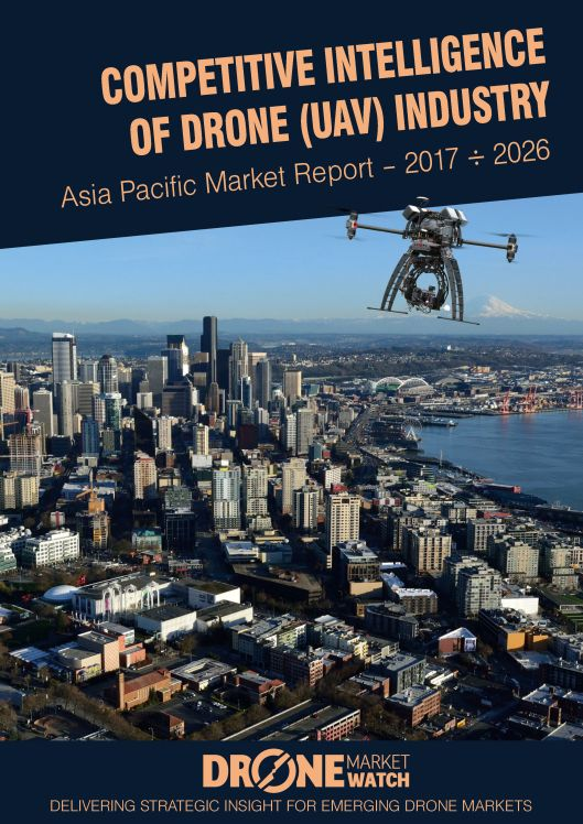 Competitive Intelligence of Drone (UAV) Industry Asia Pacific Market Report  2017 - 2026