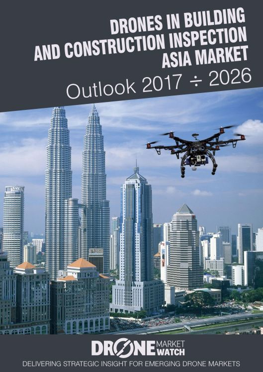 Drones in Building and Construction Inspection Asia Pacific Market Outlook 2017 - 2026